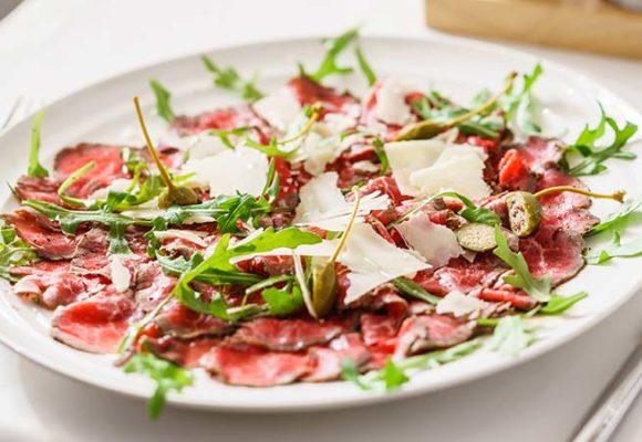 Carne Salada carpaccio