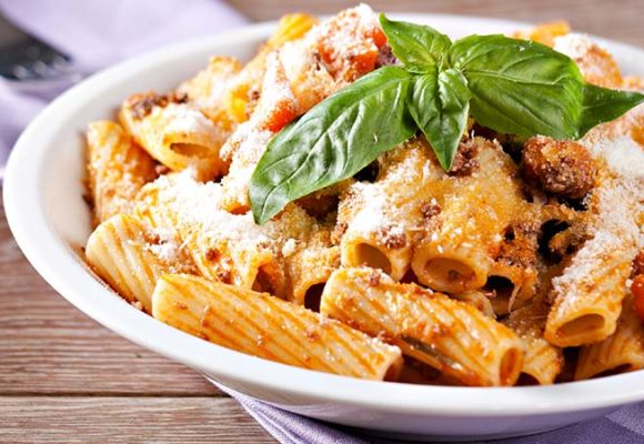 Pasta with Carne Salada ragout